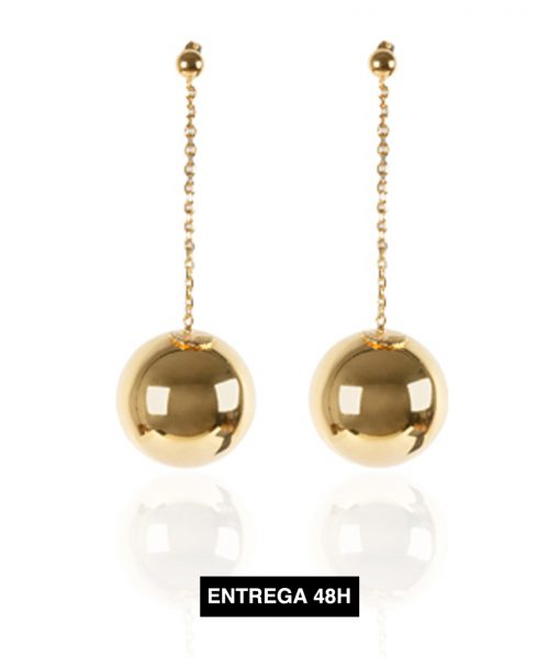 pendientes esferas
